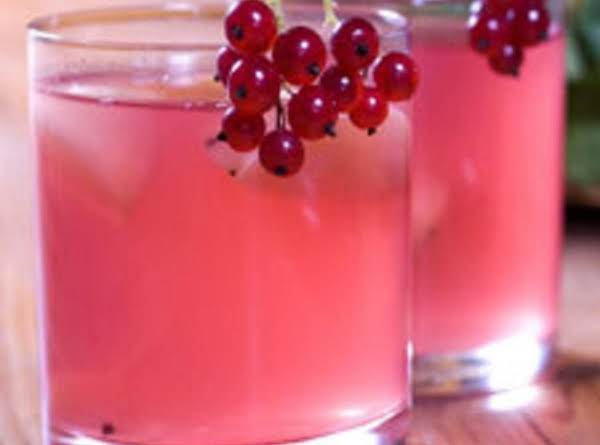 Cranberry Punch With Cranberry Garnish (this Is Not My Pic)