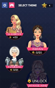 Fashion Diva: Dressup & Makeup APK screenshot thumbnail 13