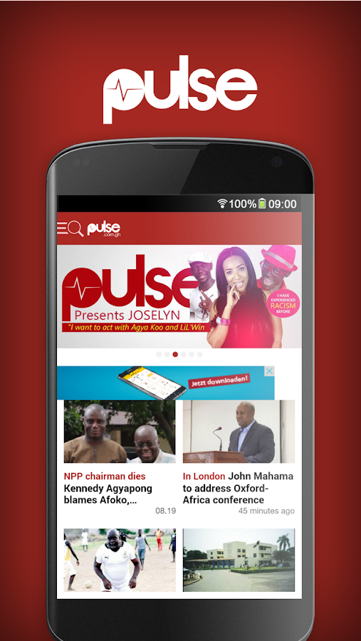 Pulse.com.gh- screenshot