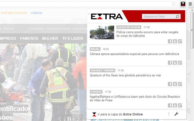Extra Online - Últimas Notícias