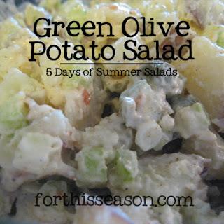 Egg Potato Salad Green Olives Recipes
