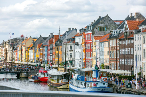 copenhagen-waterfront.jpg - Iconic buildings line the canal waterfront in Nyhavn.