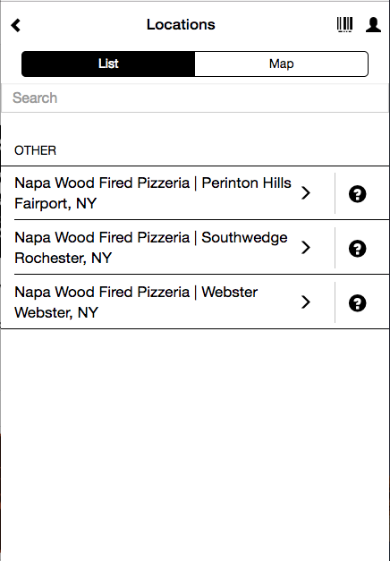 Napa Wood Fired- screenshot