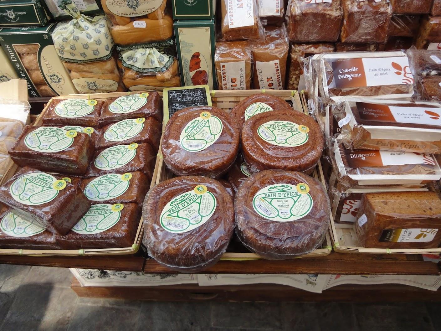Pains d'épice à Dijon