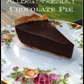 Allergy-Friendly Chocolate Pie