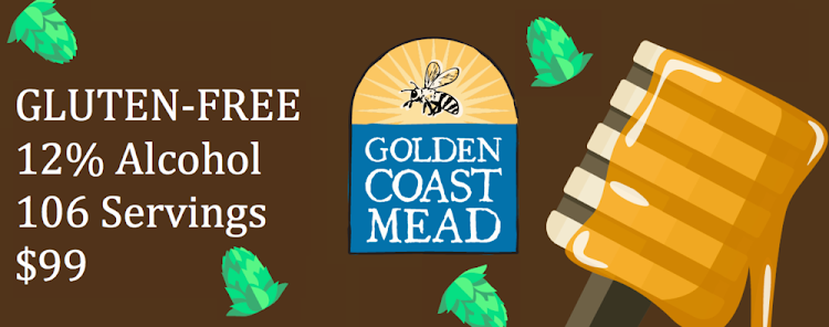 Logo of Golden Coast Mead Hopped Honey