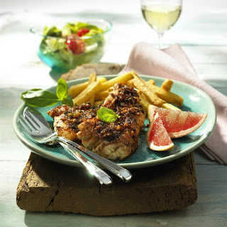 Red Snapper with Avocado Salad.