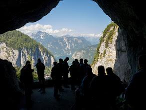 Photo: Krásný výhlěd z druhého výlezu ledové jeskyně (Eishöhle)