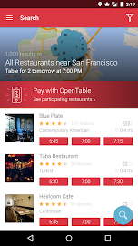 OpenTable: Restaurants Near Me Screenshot 1