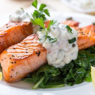 Tarragon Salmon.
