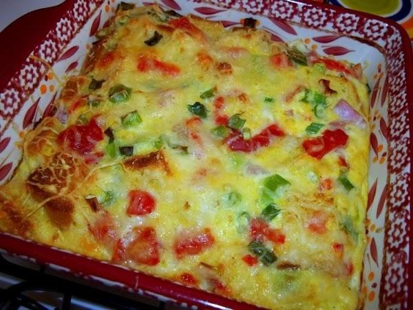 ~ Sourdough - Ham, Egg & Swiss Bake ~ My Way Recipe