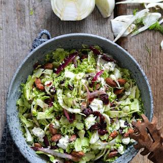 Shaved Broccoli & Fennel Salad with Roasted Salt Almonds
