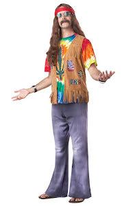 Hippie, man