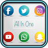 All In One Social Networks With Fingerprint Locker icon