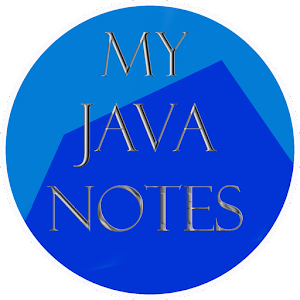 My Java Notes