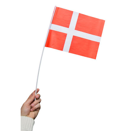 Pappersflagga, Danmark 27x20cm