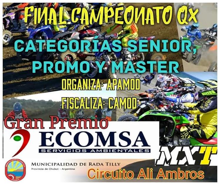 El QX cierra su temporada, al igual que MX y Enduro.