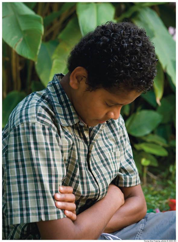 mormon child praying