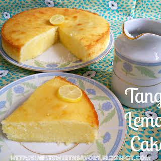 Tangy Lemon Cake.