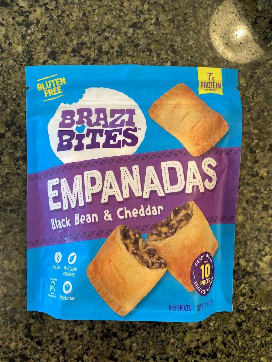 Black Bean & Cheddar Empanadas