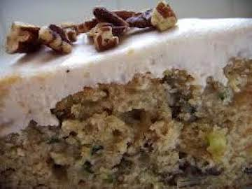 Mary's Fluffy Zucchini Cake With Pineapple & Nuts