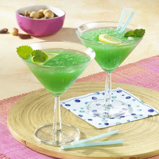 Green Curaçao Cocktail