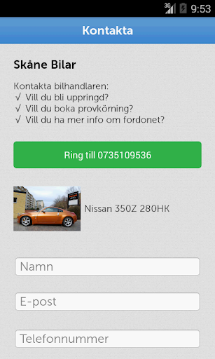 Skåne Bilar|玩商業App免費|玩APPs