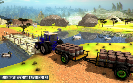 Cargo Tractor Trolley Simulator Game 1.0 screenshots 1