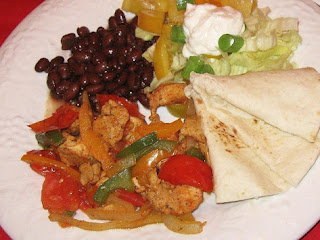 Chicken Fajitas, Millie's Recipe