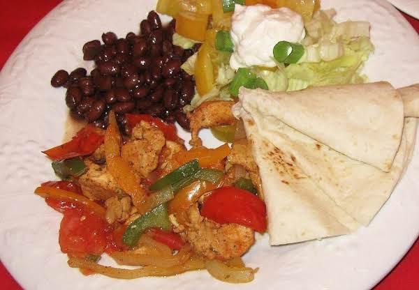 Chicken Fajitas, Millie's Recipe