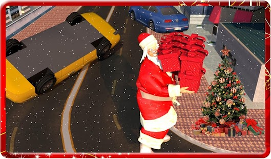 Christmas Santa Claus : Moto Gift Delivery - náhled