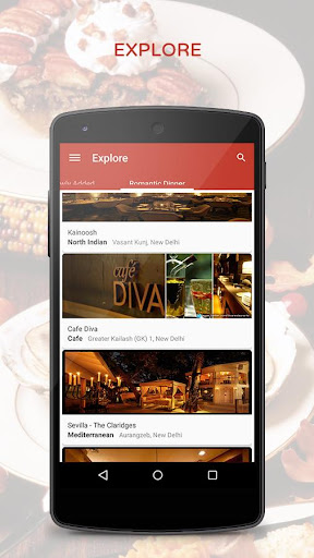 Restaurant Finder Booking
