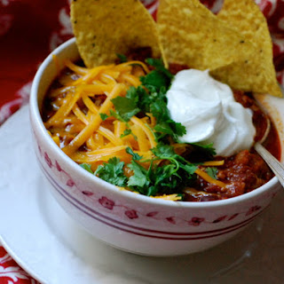 Jimmy Fallon's Crock Pot Chili.