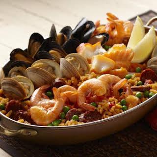 Caribbean Seafood Paella.
