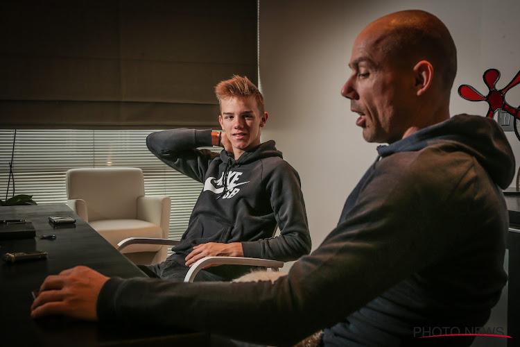 """Sven Nys zag val van zoon Thibau niet gebeuren: """"Andere keren door acrobatentoeren"""""""