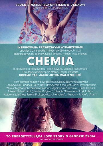 Tył ulotki filmu 'Chemia'