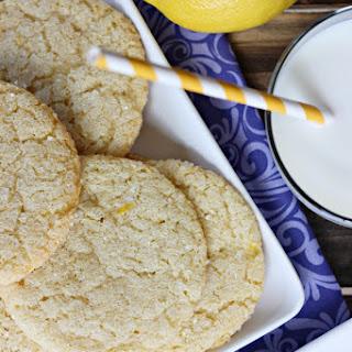 Gluten-Free Lemon Sugar Cookies