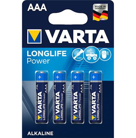 VARTA LONGLIFE Power AAA/LR03 4-PACK