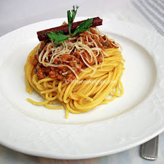 Spaghetti With Ground Beef Recipes.