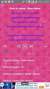 download lirik lagu karna su sayang