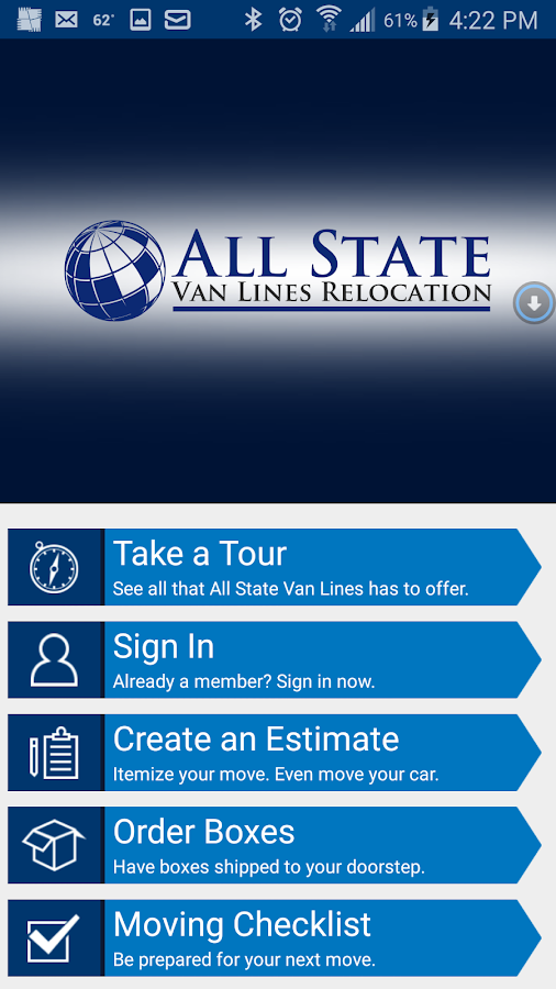All State Van Lines Relocation- screenshot