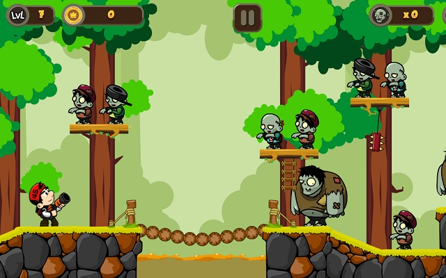 Zombie Buster - destroy zombies with bombs