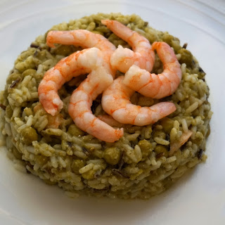 Quick dinner: Avocado prawn risotto recipe (Gluten and lactose free)