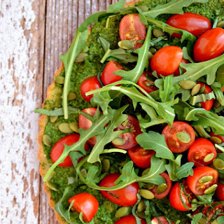 Clean + Green Superfood Pizza Recipe