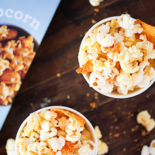Nacho Cheese Doritos Popcorn.