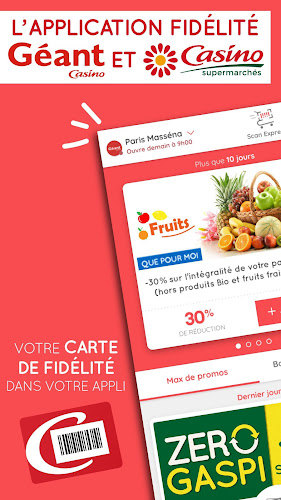 Casino Max – promos & fidélité Android App Screenshot