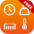 Unit Converter + Currency Free icon