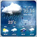 Daily weather forecast widget☂ download