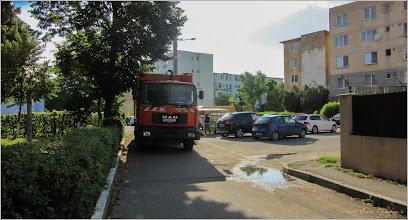 Photo: Turda - Calea Victoriei - parcare in Mr.1, in zona - 2019.07.03