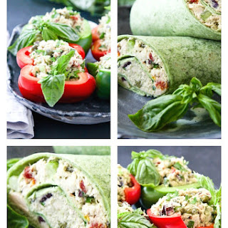 Bell Pepper Bowls \ Tortilla Wraps.
